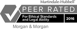 Martindale-Hubbell Peer Rated For Ethical Standards and Legal Ability 2016 Badge